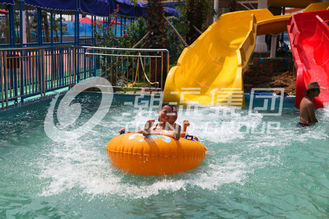 Customized Kids Water Slides Amusement Park Games For Family Interaction