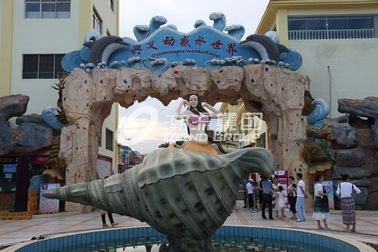 Chiny Safety Dynamic Water World Customized Water Park Project / Theme Aqua Park dostawca