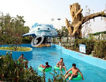 Chiny Giant Lazy Swimming Pool Commercial Water Park Equipment For Family dostawca