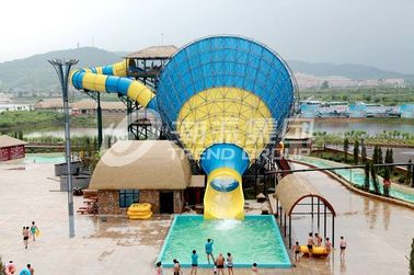 Chiny Interesting big Fiberglass Water Slides for 4 persons / time dostawca