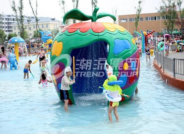 Chiny Large Fiberglass and PVC Spray Park Equipment For 3 ~ 5 persons dostawca