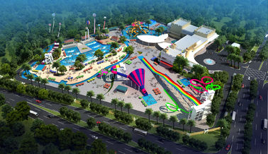 Chiny Large Holiday Waterpark Project , Indoor Amazing Funny Water Park / Customized water slide dostawca