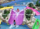 Chiny Fiberglass kids residential pool slide for water play / children water slides fabryka