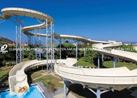 Chiny Family Fun Aqua Park Equipment , Large Water Slides Capacity For 720 Riders Per Hour fabryka