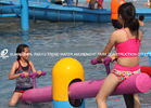 Chiny Customized Colorful Carp Spray Aqua Park Equipment For Children / Kids Fun in Swimming Pool fabryka