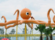 Chiny Customized Outdoor Octopus Spray For Aqua Play Water Park Items Fiberglass Equipment fabryka