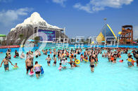 Chiny Air Blower Water Park Wave Pool Construction Family Use Custom Size for Water Park firma