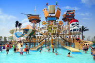 Chiny Floating Water Playground Equipment Large Theme Hotel Outdoor Water Park firma