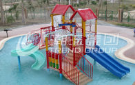 Chiny 6.5 M Kids Water House / Water Playground Equipment for Swimming Pool fabryka