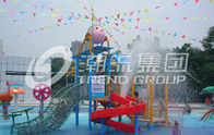 Chiny Promotion Kids Water Slides for Children Play Area / Equipment Floor Space 9.5*6.5m fabryka