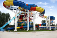 Chiny Family Rafting Aqua Park Fiberglass Waterpark Slide 6 Person/time firma