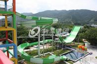 Chiny Giant Water Park Equipment Exciting Swwiming Pool Fiberglass Water Slides For Adults in Themed Water Park fabryka
