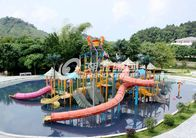 Chiny Commercial Medium Water House Aqua Playground Platform With Water Slide for Water House fabryka