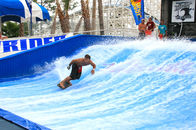 Chiny Most Popular Fiberglass Flow Rider Surfing For Commercial Playground Equipment fabryka