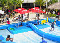 Chiny Outdoor Aqua Play Flowrider Water Ride For Skateboarding Surfing Sport fabryka