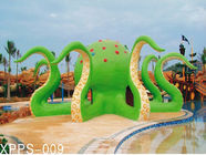 Chiny Colorful Octopus Water Playground Equipment 6100*6100*5000 For Family Recreation firma