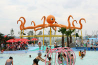 Chiny Customized 8m Height Octopus Spray  For Aqua Water Playground Equipment firma