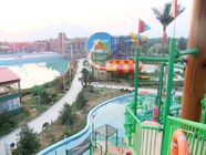 Chiny Waterpark Project, Outdoor Water Park Engineering Projects / Customized Water Slide firma