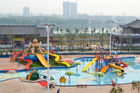 Chiny Amusement Waterpark Project, Gaint Water Park Equipment Kids Theming Water Park Slide firma