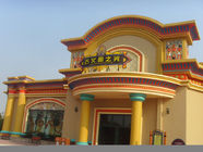 Chiny Customized Theme Park Projects , Water Park Construction With Fiberglass Material fabryka
