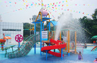 Chiny Outdoor Commercial Safe Fibreglass Kids 'Water Playground Water House for Aqua Park firma