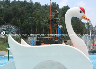 Chiny Customized Fiberglass Small Water Pool Slides Designed For Water Park Games fabryka