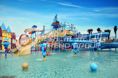 Activities Large Aqua Playground Children Play Equipment Entertaining
