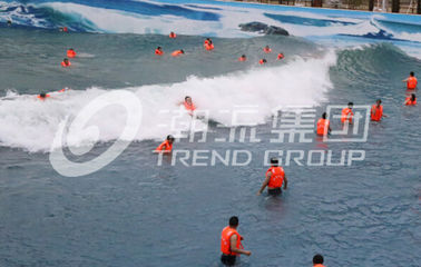 Biggest Outdoor Water Park Wave Pool Construction Strong Power for Outdoor Aqua Park