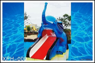 Chiny Cartoon Shaped Fiberglass Water Pool Slides for Mini Kids Water Park fabryka