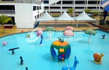 Chiny Fiberglass Spray Park Fiberglass Equipment For Children / Kids Water Park Products fabryka