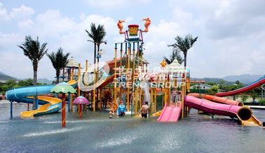 Chiny Gigantic Water House Aqua Playground Sports Water Park Amusement Park Equipment fabryka