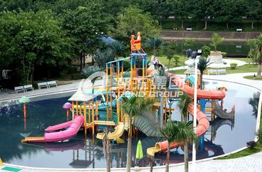 Chiny Summer Outdoor Aqua Park Games Fiberglass Water Park Attractions for Kids fabryka