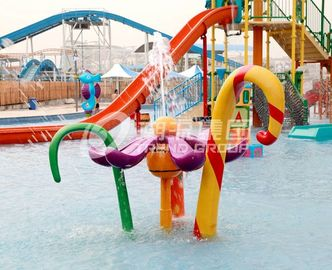 Chiny Different Style Spray Park Equipment , Fiberglass Splash Park Equipment fabryka