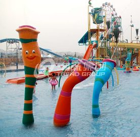 Chiny Customized Carp Carton Spray Park Aqua Park Equipment For Children / Kids Fun fabryka