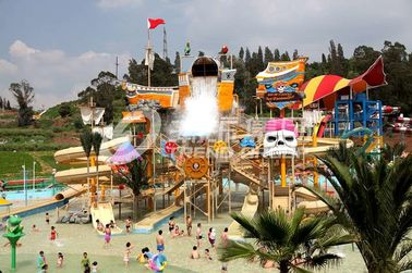 Chiny Gigantic Water House Aqua Playground Water Park Amusement Park Equipment fabryka
