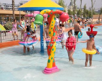 Chiny Colorful Fiberglass Spray Water Equipment For Children / Kids Customized Products fabryka