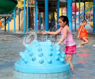 Chiny Carp Spray Park Fiberglass Water Park Equipment , Water Play Equipment fabryka