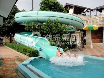 Chiny Adult Custom Water Slides , Galvanized carbon steel Water park equipment fabryka