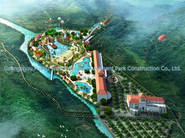 Amusement Water Park Conceptual Design / Professional Design Team for Water Park